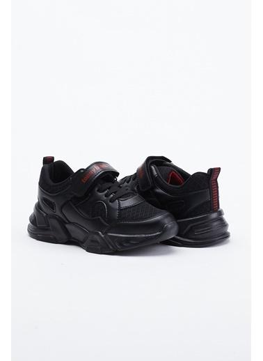 Tonny Black Siyah Çocuk Spor Ayakkabı Tb0019 Siyah